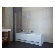 Шторка для ванны Koller Pool QP97 (левосторонняя) 1150x1400 хром , матовое стекло