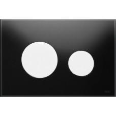 Клавиша для инсталляции TECEloop панель из черного стекла, клавиши хром глянцевый 9240656